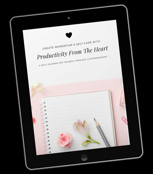 Productivity From The Heart Ipad Mockup (1)