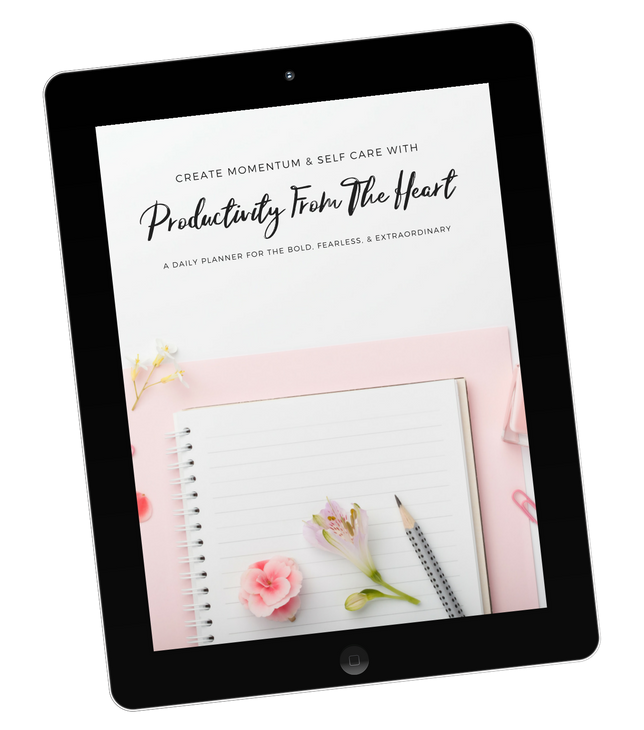 Productivity From The Heart Ipad Mockup